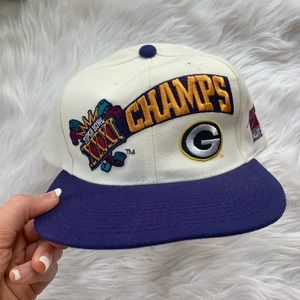 NWT Vintage Green Bay Packers Super Bowl champ hat